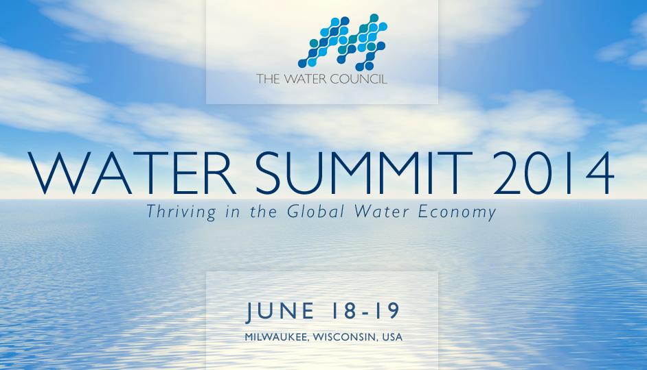 Water Summit 2014 – Entrepreneurship, Innovation & Sustainability