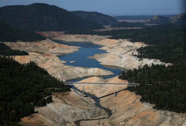 Lake Oroville Justin Sullivan / Getty Images. California Drought