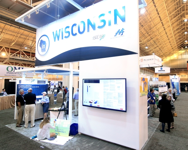 WEFTEC Booth 2014_painting